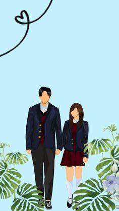 Anime Couples, Cute Couples, Cute Couple Art, Ahs, Texting, Islamic Quotes, Graphic Art, Fanart, Wattpad