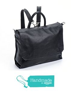74a73abef4291d Amazon.com  Handmade Designer Napa Black Genuine Leather Laptop Backpack  and messenger Bag  Handmade