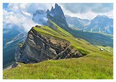 Odle Gebirgskette, Gardena | Fotografie | Echte Postkarten online versenden…