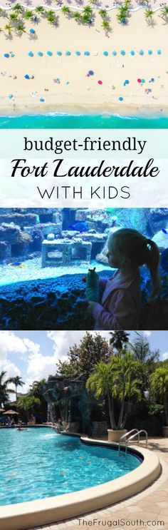 Our budget-friendly family trip to Fort Lauderdale was a blast! Money saving tips for traveling to South Florida with kids, including what to do for free that children will love.