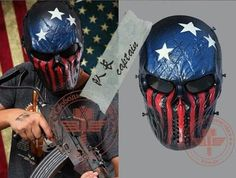 THE CAPTAIN - Tactical Full Face Mask - Airsoft or Paintball Mask!