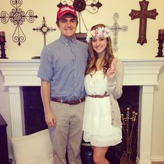 forrest gump and jenny costumes