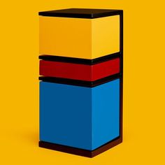 Piet Mondrian, Bff Tats, Artwork Prints, Framed Prints, Tool Organization, Primary Colors, Tower, Abstract, Storage