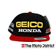 Geico Honda Race Team Trucker Hat Honda Truck 726e5326d6e1