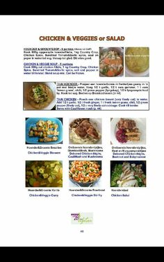 Healthy Eating Recipes, Low Carb Recipes, Diet Recipes, Recipies, Chicken Veggie Soup, Chicken Spices, 28 Dae Dieet, Dieet Plan, Savoury Baking