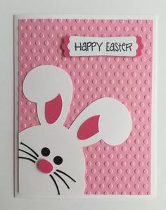 Handmade Easter Card Bunny Rabbit Happy Easter By Juliespapercrafts On ! handmade easter card bunny rabbit fröhliche ostern von juliespapercrafts on Handmade Easter Card Bunny Rabbit Happy Easter By Juliespapercrafts On ! Diy Easter Cards, Easter Crafts, Happy Easter Cards, Handmade Easter Cards, Ostern Wallpaper, Diy Ostern, Cricut Cards, Paper Cards, Kids Cards