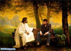 sad keanu and jesus