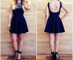feminino curto vestido