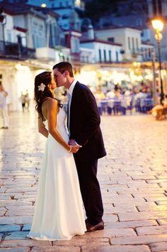 Greece Wedding by J. Cogliandro Photography | Style Me Pretty