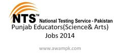 Punjab Educators (Science & Arts) Jobs 2014 The Government of Punjab, School Education has announced Latest jobs for educator in Punjab for various districts of Punjab. The Government of Punjab...