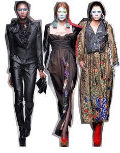 estilo grunge paris fashion week