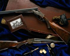 Leather, Guns and Tweed: A 'New' Era for Purdey at Audley House. Side By Side Shotgun, Edward Viii, Hunting Rifles, Hermes Kelly, Shotguns, Firearms, Tweed, Gentleman, Military