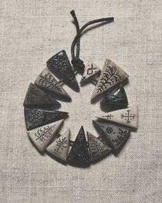 .  Ceramic pendants