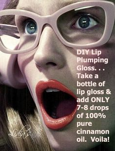 DIY for a Lip Plumping Gloss.