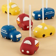 car cake pop - Google Search