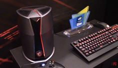 CES 2016: MSI Shows Off Vortex Gaming PC and Eye Tracking Technology [Video]