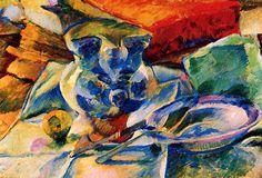 Still Life - Umberto Boccioni Paintings Umberto Boccioni, Italian Futurism, Reggio Calabria, Italian Painters, Oil Painting Reproductions, Italian Art, Oil Painting On Canvas, Still Life, Hand Painted