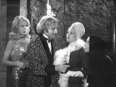 """""""You take the blond, and I'll take the one in the turban!"""" Teri Garr, Gene Wilder, Madeline Kahn, and Marty Feldman"""