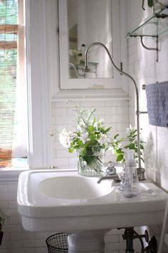 Shower Head over Sink | Content in a Cottage
