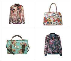 Kwiaty - trendy na jesień 2013 // flower print - fashion fall 2013