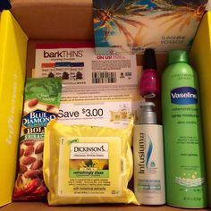 My Review Space: Sunshine VoxBox Reveal. My 1st Voxbox from Influenster #Influenster #VoxBox