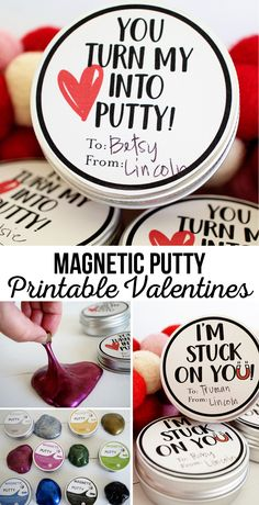 Magnetic Putty Print