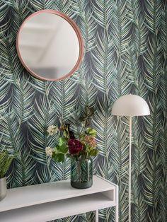 Zrcadlo na zeď Present Time Vogue Round. Velikost: 51 x 5 cm.