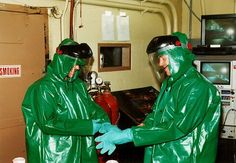 Putting on the work gear, made from PVC Fabric. Pvc Fabric, Sewing Notions, Put On, Fashion, Hazmat Suit, Pictures, Moda, Fashion Styles