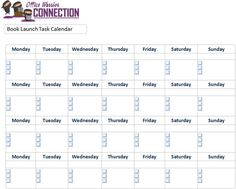 All this month, I'm talking about how to use Microsoft OneNote to create an electronic bullet journal. Visit the Office Warrior Connection's index page to a list of topics.Book Launch Task CalendarFor anyone who has already completed a book launch, they have a good idea of how stressful it can be due to the number of tasks that need to be completed prior to the release date. Planning often starts months in advance. If you've never done a book launch before, hold onto your boots! Oh - and make a Task Calendar, Outlook Calendar, Schedule Facebook Posts, Writing A Press Release, One Note Microsoft, Editing Writing, Book Launch, Lists To Make, Important Dates