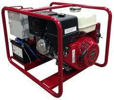 Poweri - Sähköaggregaatti GX 390 - Hondamoottorilla Meccalte - 10 kVA generaattorilla Teho - 6,4 kW Suitcase, Briefcase