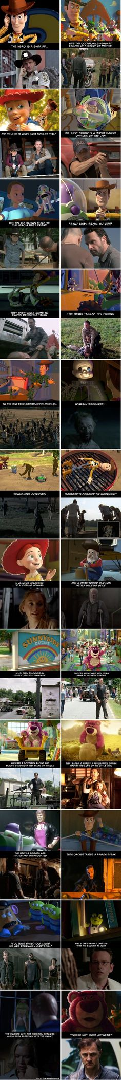 "Undeniable Proof That ""The Walking Dead"" And ""Toy Story"" Have The Exact Same Plot"