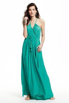 Batinly V-Neck Maxi Dress    Calypso St. Barth