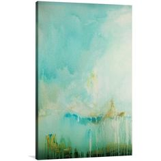 Bianco Scuro Canvas Print ($210) ❤ liked on Polyvore featuring home, home decor, wall art, paintings, abstract painting, abstract wall art and abstract home decor