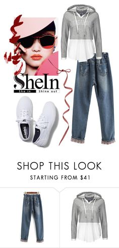 """😊"" by triciapigeontonkins ❤ liked on Polyvore featuring Keds"
