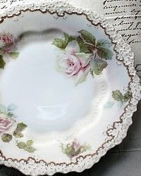gorgeous china plate - French Garden House