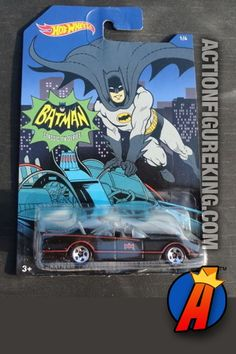 2014 DC Comics Batman Classic TV Series 1978 Corvette Funny Car 1/64 die-cast vehicle from Hot Wheels
