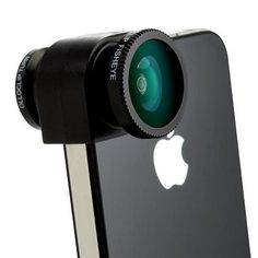 fish eye lens for iPhone, saw some on amazon for 8 dollars or best buy for 18