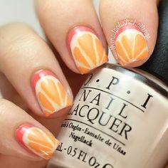 Fun manicure nail art❣ (specifics @ link) • thenailpolishchallenge • Instagrin