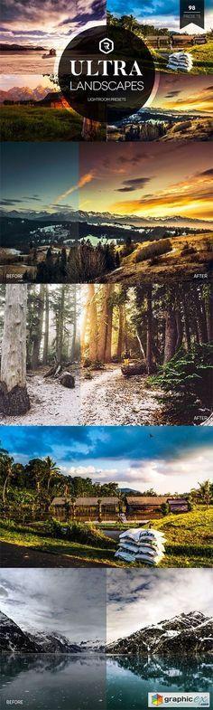 Ultra Landscapes Lightroom Presets