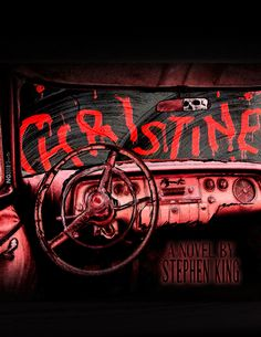 """""""Christine"""" by Stephen King Framed Art Print by nategonzales Real Horror, Creepy Horror, Horror Show, Horror Movie Posters, Horror Films, Horror Art, Pumpkin Pictures, Pumpkin Pics, Stephen King Movies"""