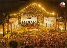 Escenario del festival de Viña del Mar -Quinta Vergara
