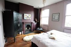 East London Oasis - eclectic - bedroom - london - by Beccy Smart Photography
