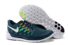 Cheap Nike Free 5.0 2014 Orange Grass Green White,www.freerundistance.com