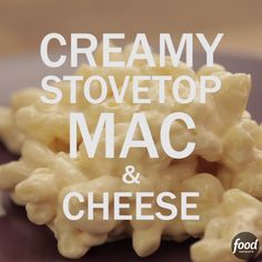 No need for a flour-and-butter roux in this easy stovetop version of an old favorite: The cream cheese adds body and richness. If your mac and cheese gets a little stiff as it cools, just stir in some warm water to smooth it out - it works like a charm!