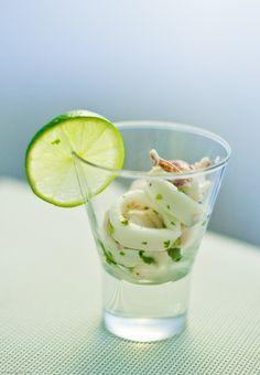 squid ceviche