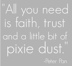 pixie dust...