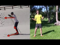 How to Skate Ski: Improve Your Glide - YouTube Xc Ski, Nordic Skiing, Core Challenge, Cross Country Skiing, Kayaking, Drill, Skate, Improve Yourself, Challenges