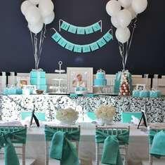 Georgia & Co's Breakfast at Tiffany's 1st Birthday Party - Tiffany's
