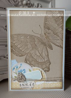 Swallowtail by Stampin Up made by Michelle last