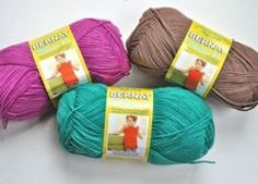We're giving away these gorgeous colors of Bernat Cotton-ish Yarn by Vickie Howell. We've even provided amazing crochet patterns you can make with it.
